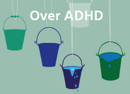 Button over ADHD AD
